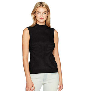 Michael Stars Luxe Mock Neck Shell Top XS
